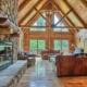Luxury Hocking Hills Ohio Log cabin
