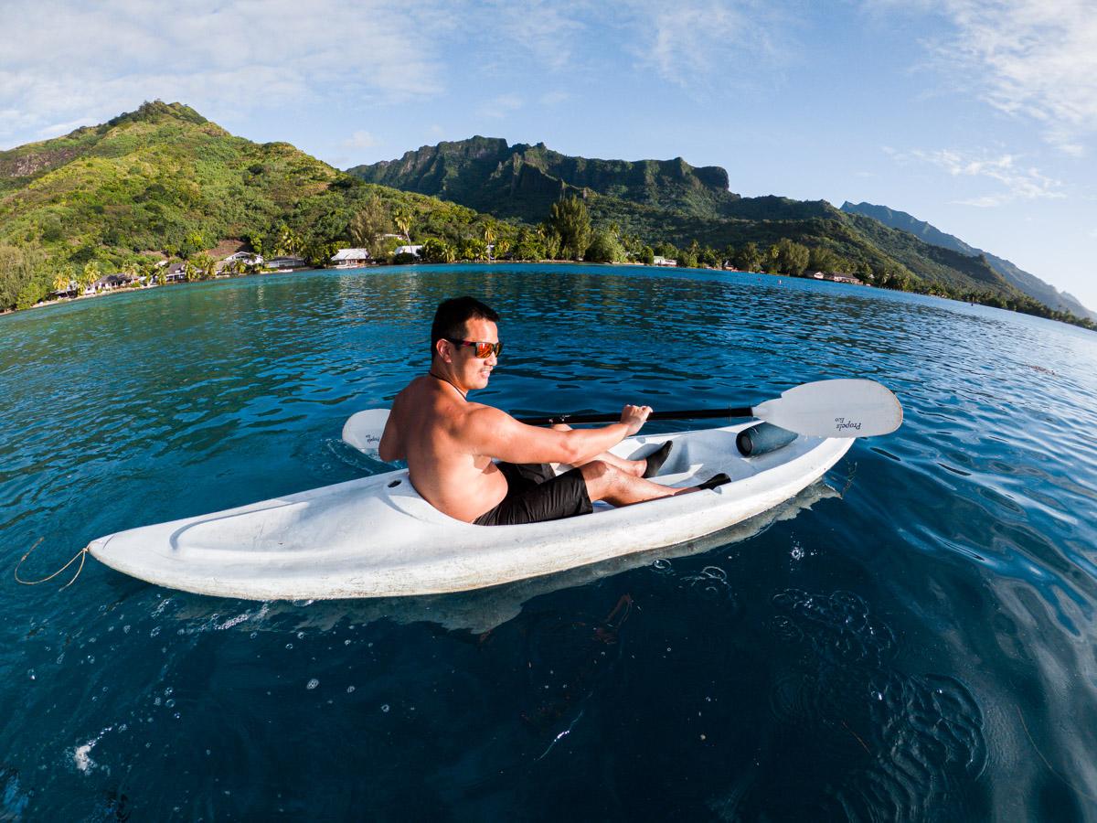 Moorea Kayaking