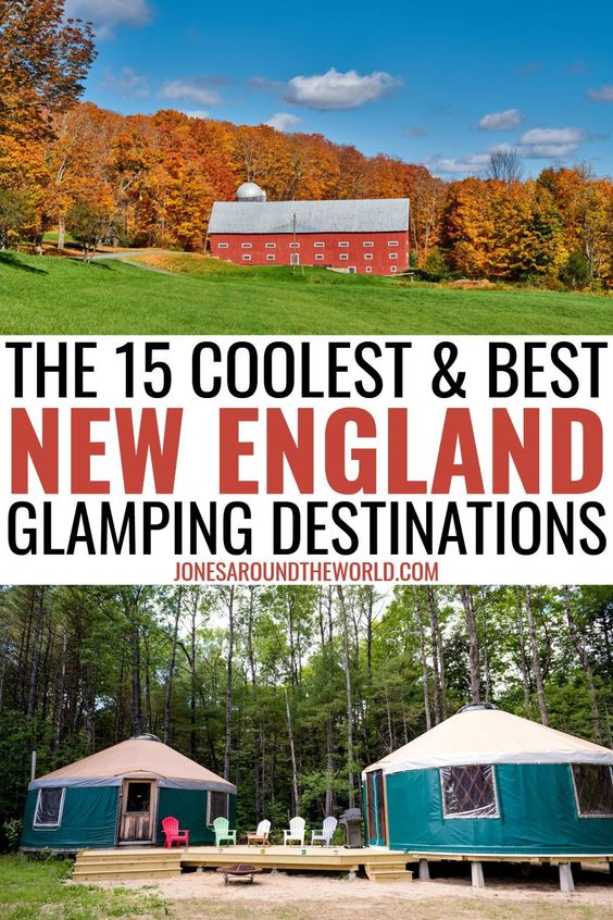 New England Glamping - pinterest