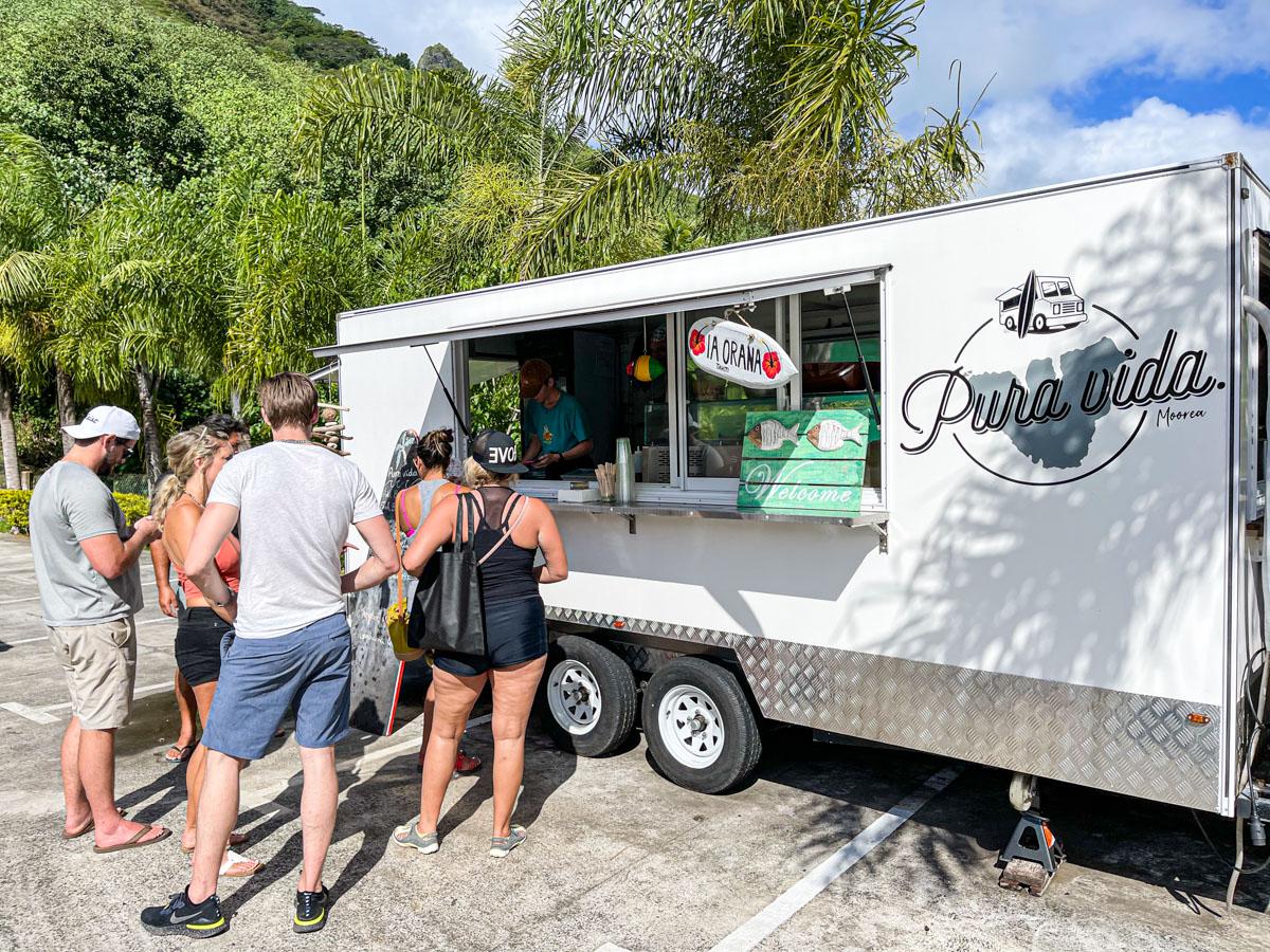 Pura Vida Food Truck Moorea