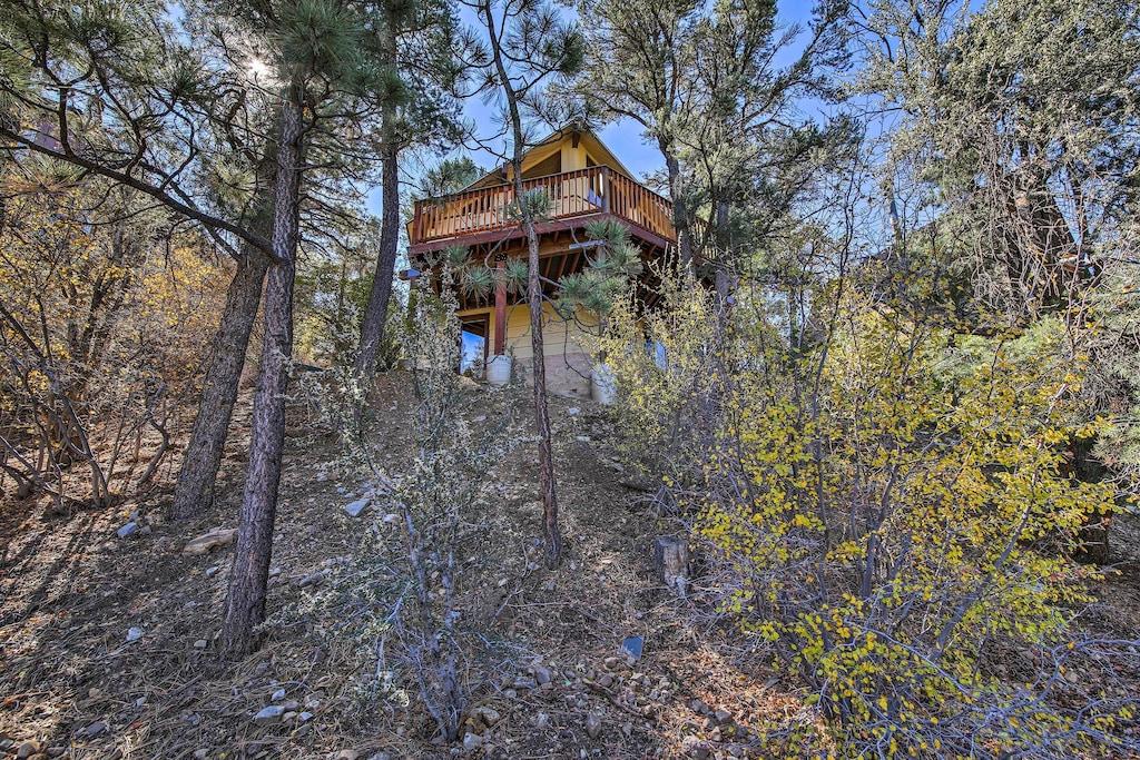 Secluded Big Bear Cabin Rental