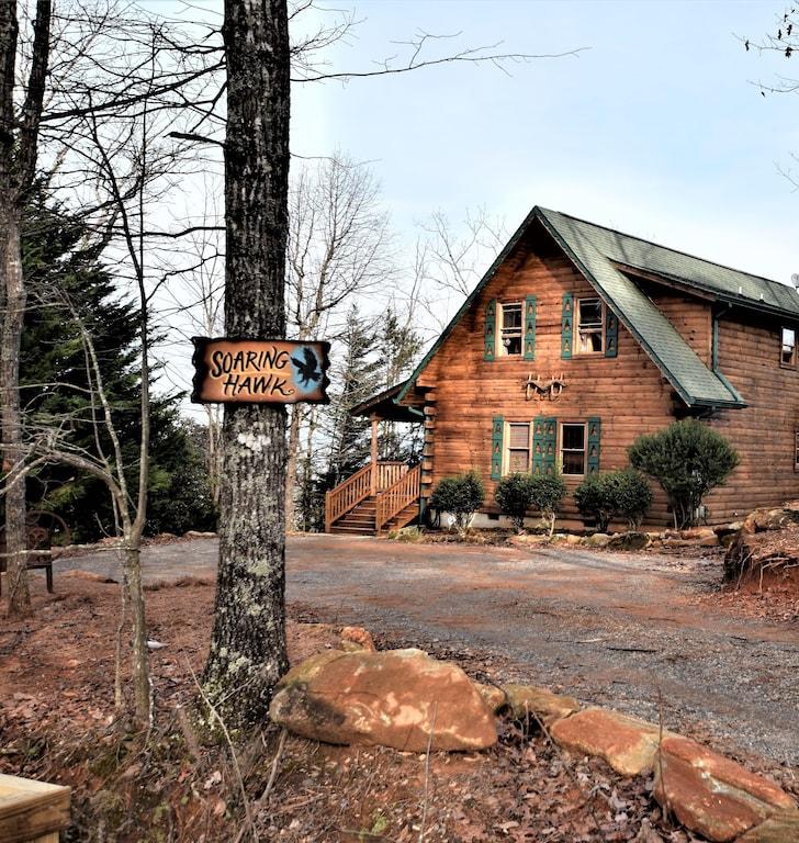 Soaring Hawk - Luxury Cabin Rental Georgia