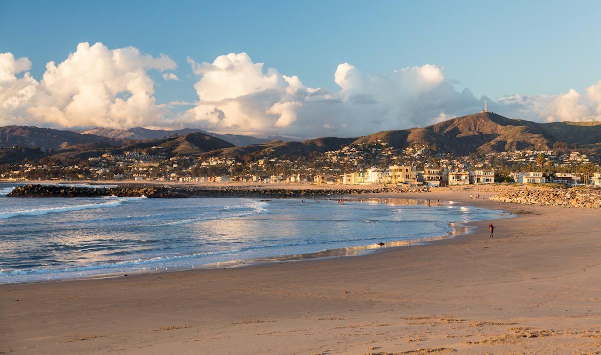 Sunset at Ventura California