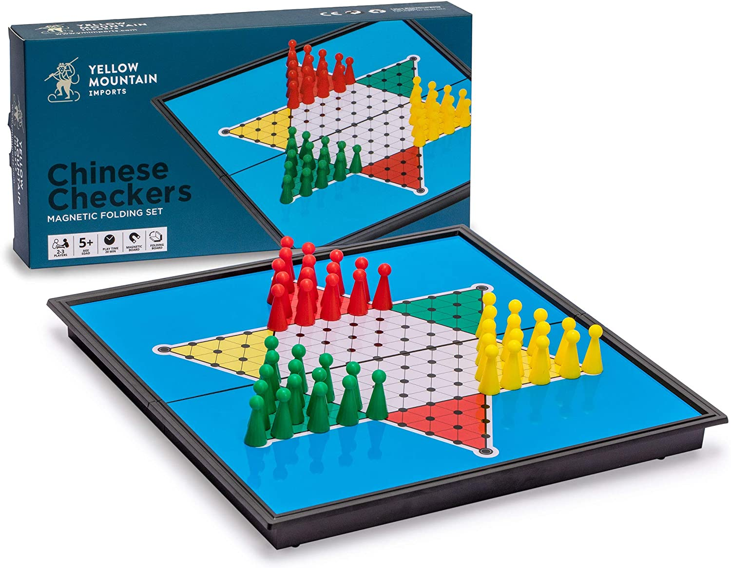 Chinese Checkers Travel Game