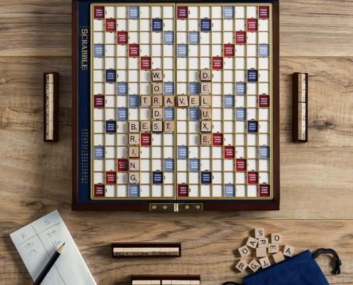 Deluxe Scrabble Travel Edition