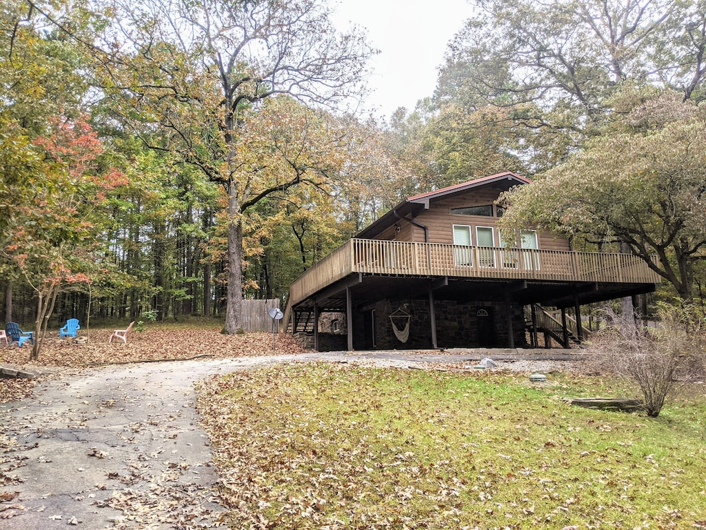 Secluded Cabins in Arkansas close to hot springs