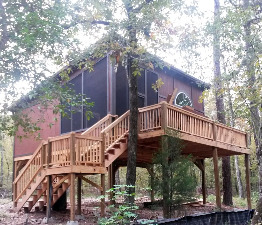 Secluded Cabins in Arkansas cozy cabin