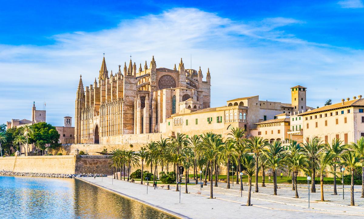 Cathedral of Majorca Palma Spain