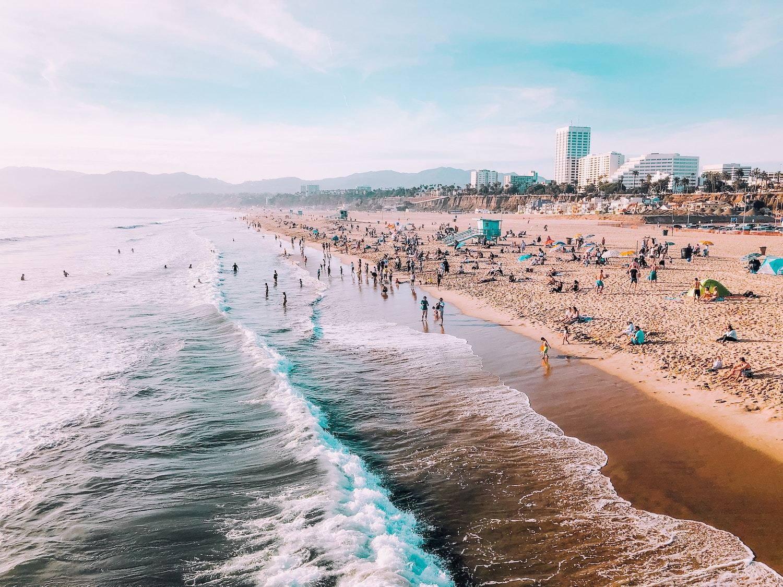 Santa-Monica-Beach-California