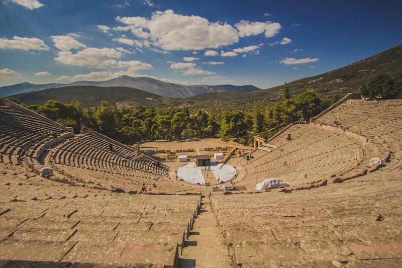 Ancient Theatre of the Asklepieion, Epidavros