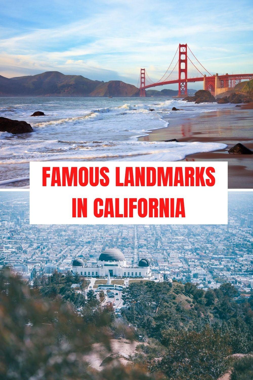 Famous Landmarks in California - pinterest