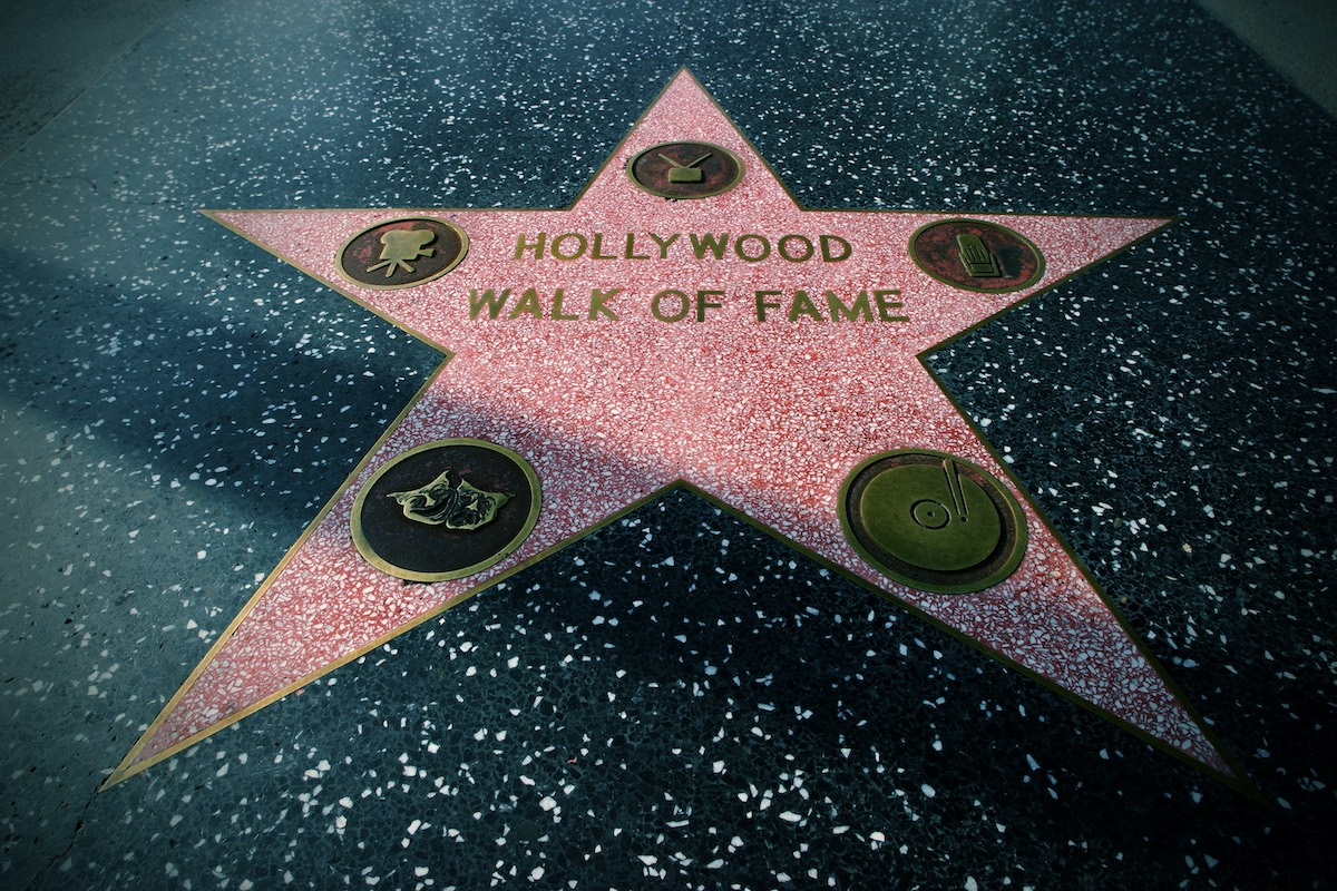 Star on the Hollywood Walk of Fame, Hollywood, California, USA